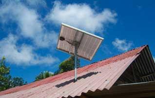 Listrik tenaga surya untuk rumah