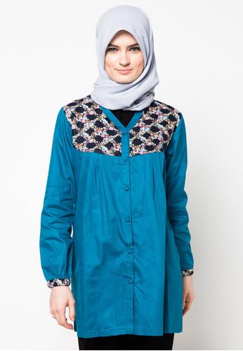 ... Model Baju Atasan Muslim. 24 Foto Desain Atasan Muslimah Modern Terbaru  Kumpulan a1859e8cf0