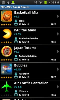 تحميل متجر Slideme Market لتحميل التطبيقات المحجوبة في بلدك