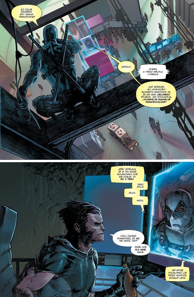 Uncanny X-Force tom 2 przykładowa strona