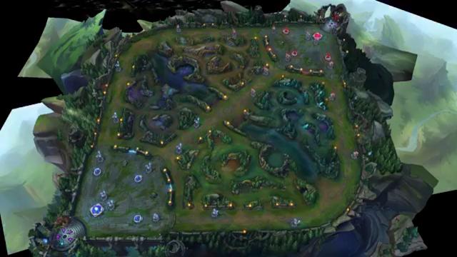 bản đồ summoners giả lập mới