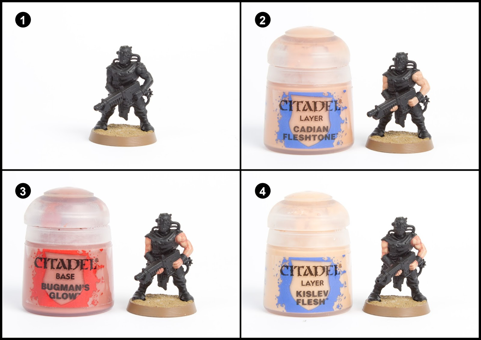 Image Of How To Use Games Workshop Texture Paint NEW Citadel Texture