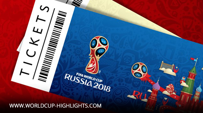 500 Thousand 2018 World Cup Tickets Start For Sale