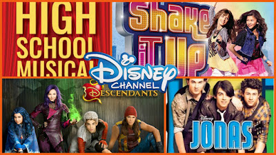 Favorite songs from Disney Channel's shows and Original Movies