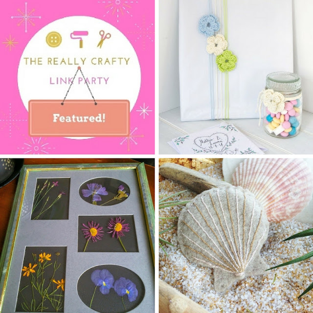 The Really Crafty Link Party #30 featured posts!