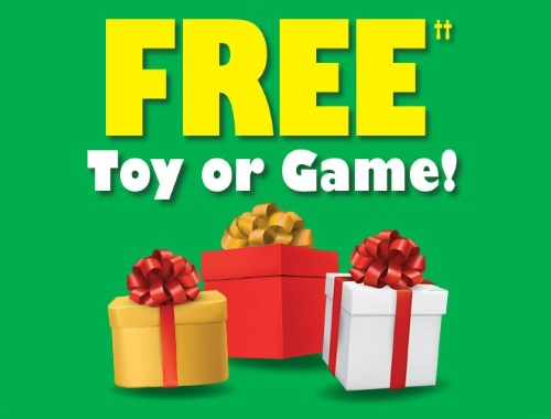 Kelloggs Free Toy or Game