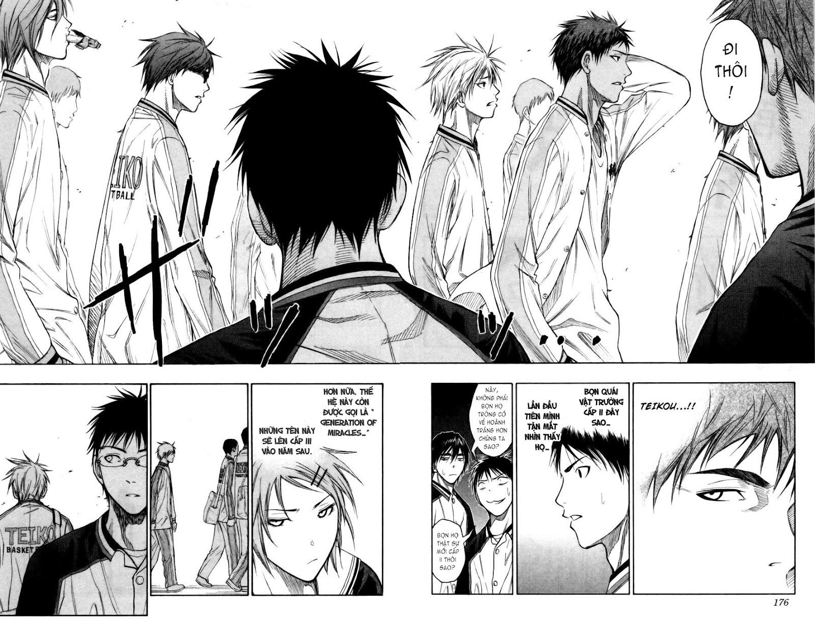 Kuroko No Basket chap 098 trang 11