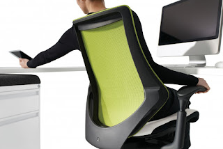 Global Spree Chair - Back View