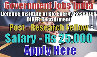DIBER Recruitment 2018