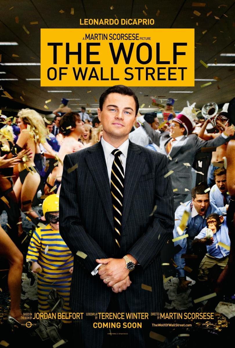 Poster El Lobo de Wall Street pelicula