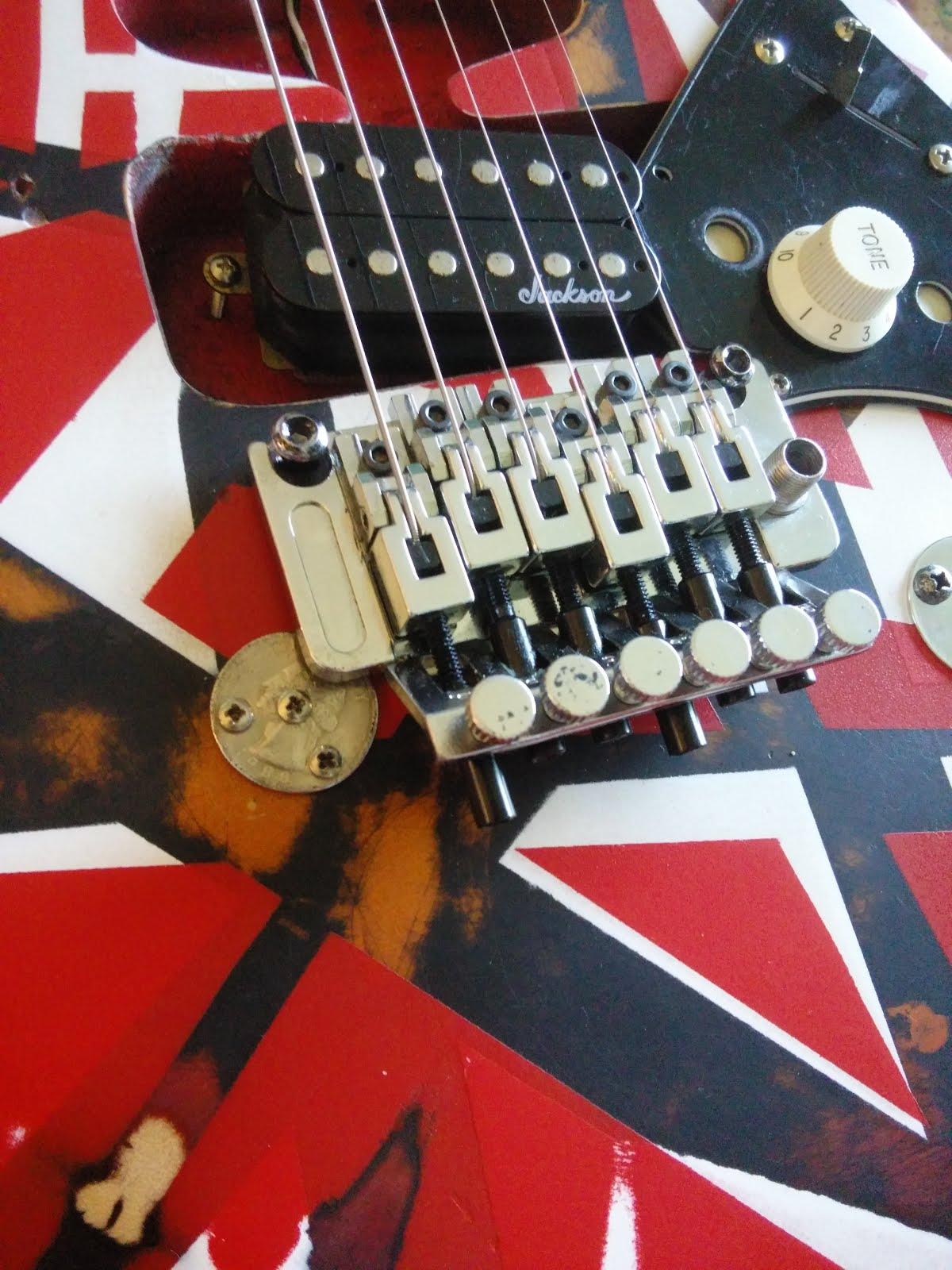 Mattwins Building An Eddie Van Halen Frankenstrat Part 2 Of 2