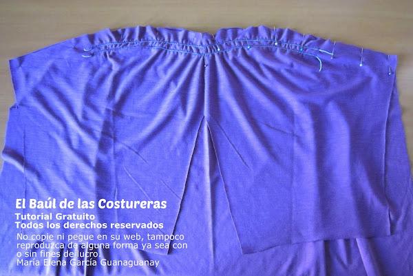 Molde de costura túnica vestido 104 Burda Style 05/2010