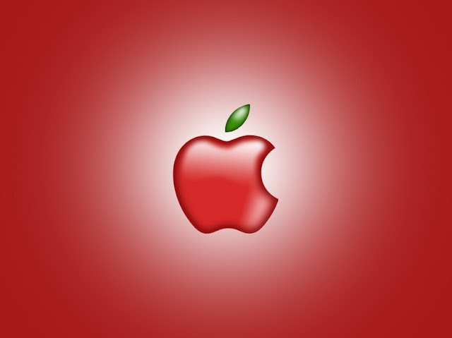 Red-HD-apple-Wallpaper