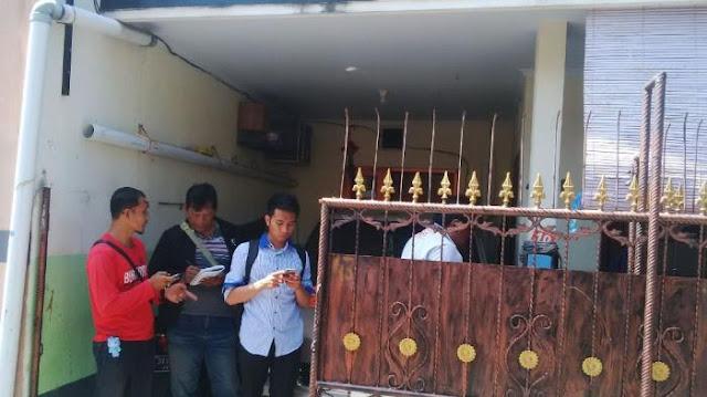 Ibu dan Anak Ditusuk Pria Bertopi di Jalan Gunung Lebah Denpasar