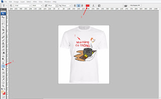 Thiết kế áo cơ bản với phần mềm Photoshop