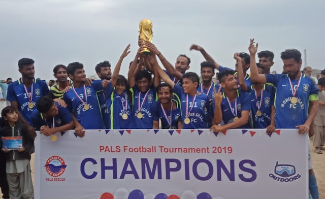 Mubarak Village wins PALS Rescue Football Tournament 2019