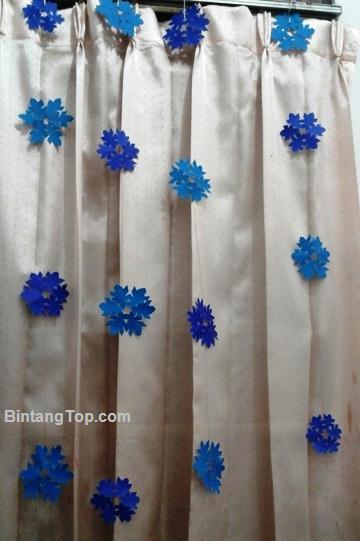 bikin sendiri hiasan snow dops dari kertas