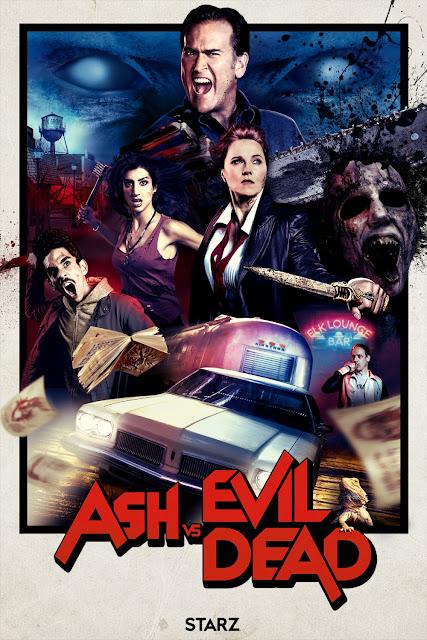 San Diego Comic-Con 2016 Exclusive Ash vs Evil Dead Season 2 Teaser Television Poster