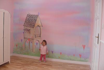 Kinderzimmer,malowanie pokoju dziecięcego, Bydgoszcz