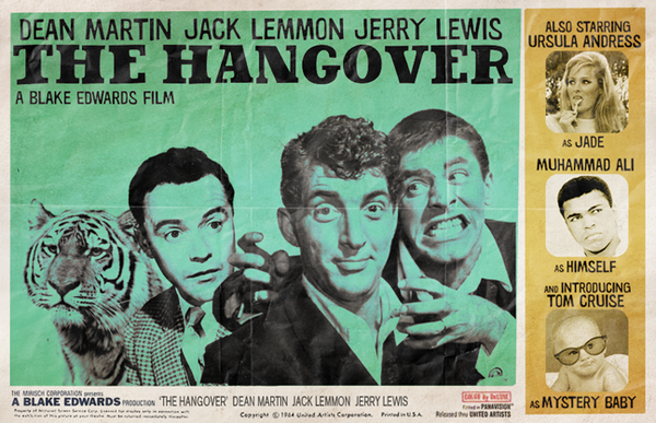 Martin, Lemmon, and Lewis in The Hangover