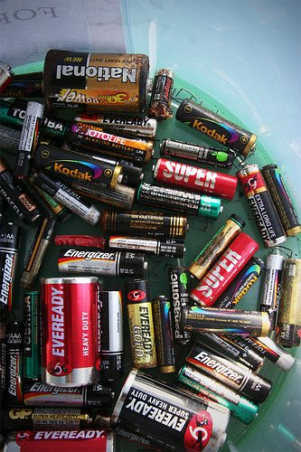 MNS Green Living: Collection of Used Batteries for Recycling