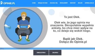 Opinie.pl — płatne ankiety