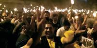 <b>Ribuan Obor dan Pekikan Takbir Sambut Kehadiran LUTFI-FERI di Rabadompu Barat</b>