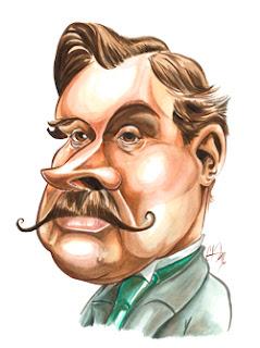 Caricature Alphonse Allais ©Guillaume Néel