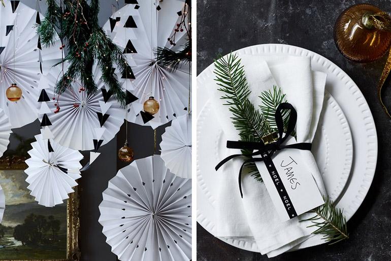 inspiración-mesas-navidad-black-white-clasico