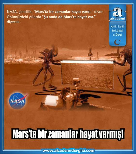 Mars'ta bir zamanlar hayat olduğu kesinleşti. Ya şimdi var mı?