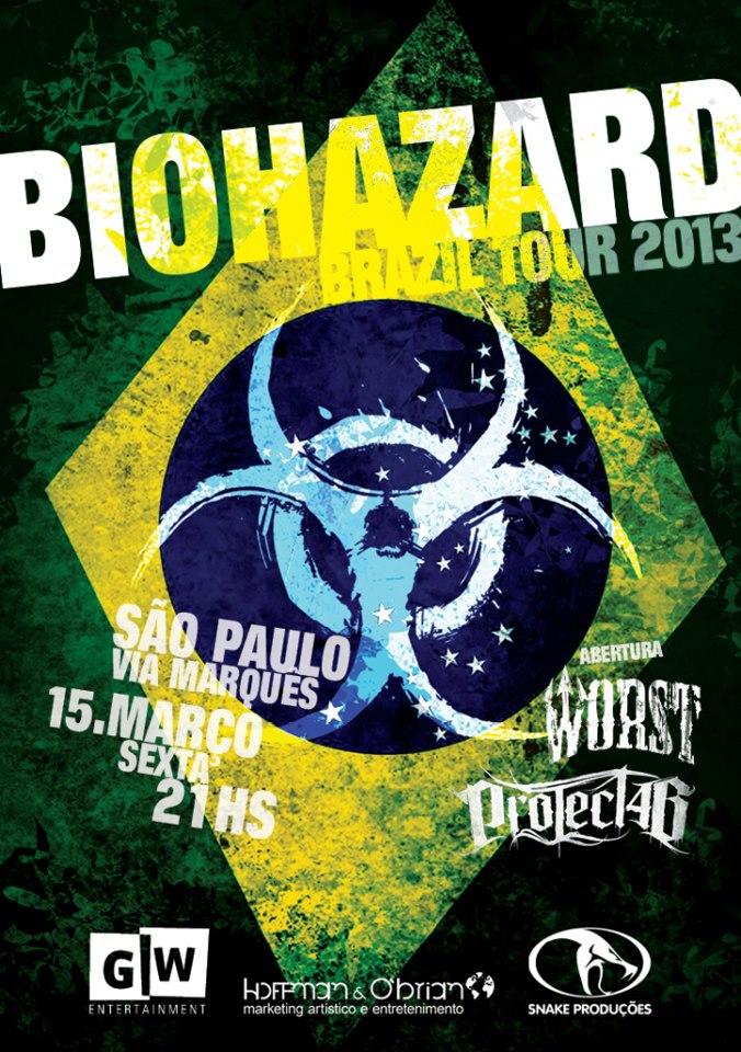 Biohazard em São Paulo