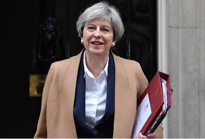 UK Prime Minister Theresa May announces early general election on June 8