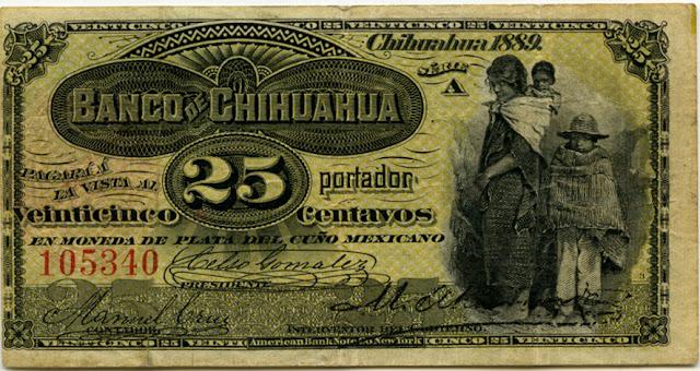 Mexico 25 Centavos