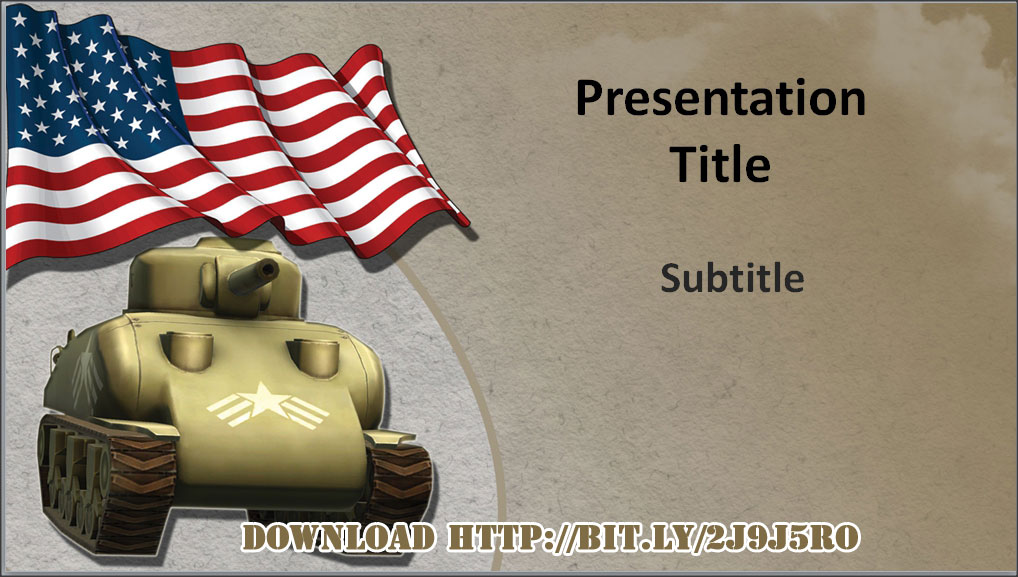 5 free military powerpoint template and background designs, Modern powerpoint