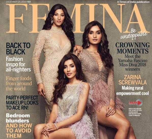 Femina English Magazine December 2018 PDF Download