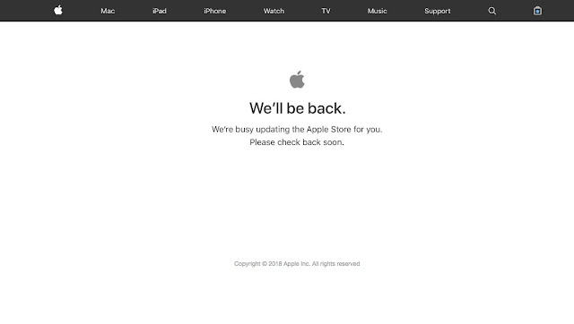 The Apple Store site