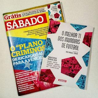 Suplemento da revista Sábado criado para a Reverso (Rui Miguel Tovar e Paulo Freixinho)