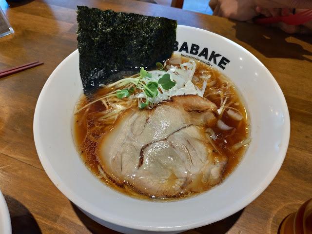醤油ラーメン【長崎グルメ】BABAKE興善町店で麻辣担担麺を堪能!