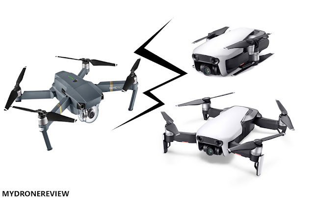 Dji Mavic Air vs Mavic Pro Comparison