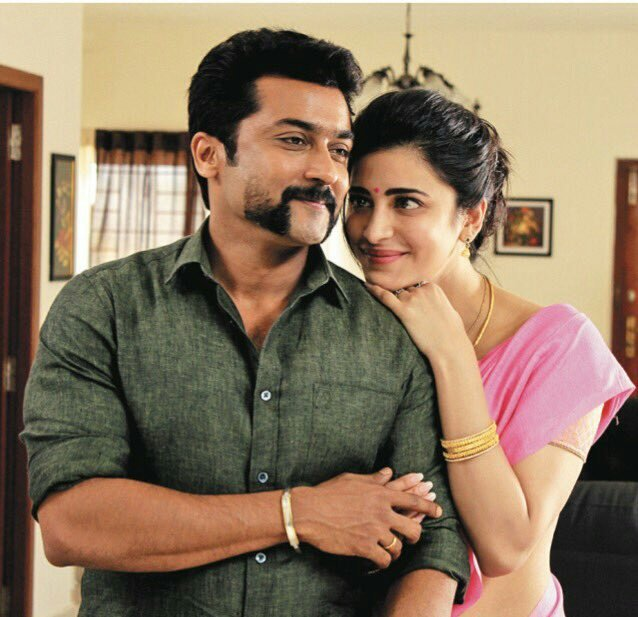 Shruti hassan, suriya in singam 3 latest images