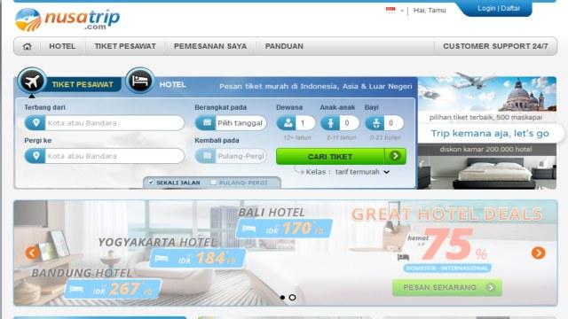 Situs Booking Tiket Pesawat Terbaik di Indonesia