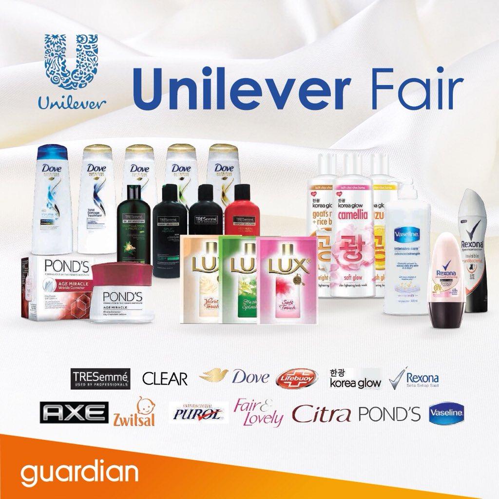 Guardian - Promo Hadiah Menari di Unilever Fair Min Belanja 500 Ribu