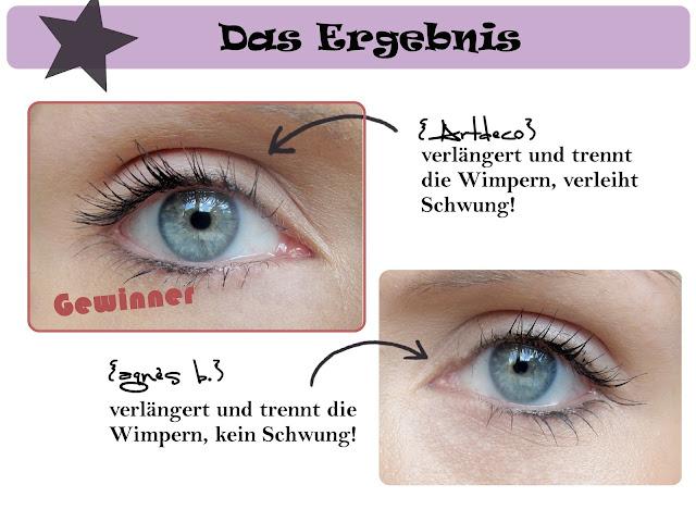 Beauty Battle - Artdeco AMAZING EFFECT MASCARA vs agnès b. MADEMOISELLE LONGS CILS