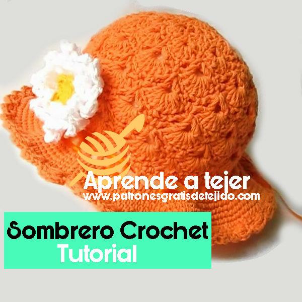 Sombrero Panamá Paso a Paso / Tutorial Crochet | Todo crochet