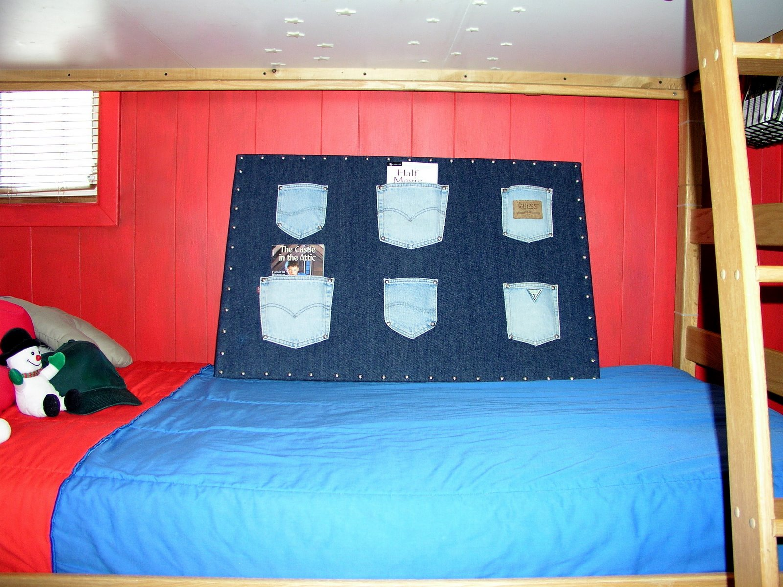 A Lapin Life Boys Room Bulletin Board And Curtains