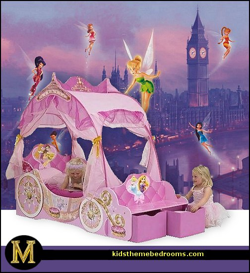 Decorating theme bedrooms maries manor bedroom theme for Disney princess wall mural