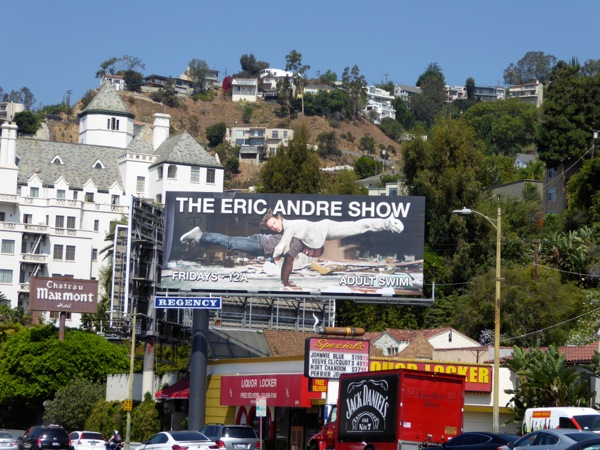 Eric Andre Show season 4 billboard