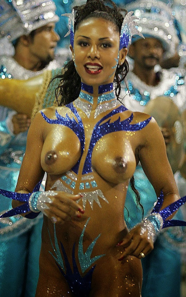 Nude Carnaval Beauties - sexiness and beauty of Rio's Carnaval!