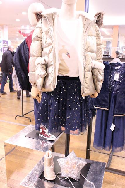 shopping, tenue de fêtes, galeries lafayette rosny 2, les petites bulles de ma vie