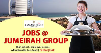 Latest Jobs At Jumeirah Group Dubai